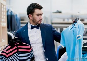 How to choose clothes for a man