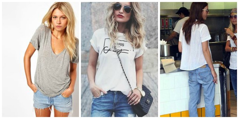 How to wear t-shirt