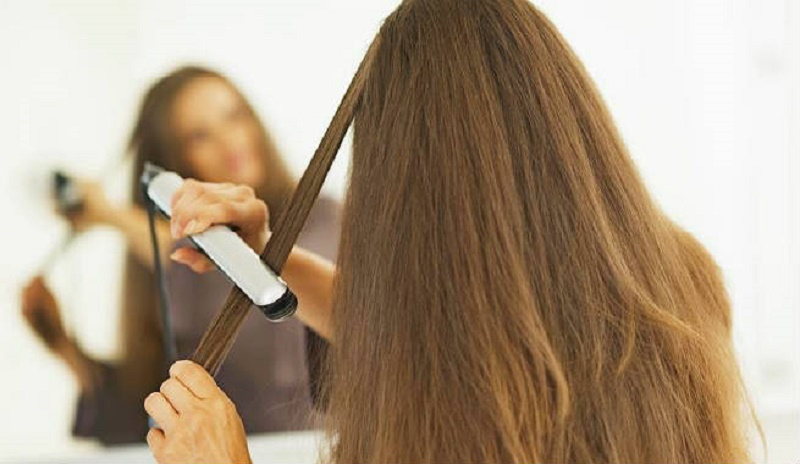 how to straighten hair without a flat iron