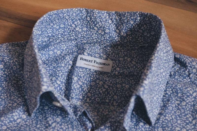 Stretch woolen shirt