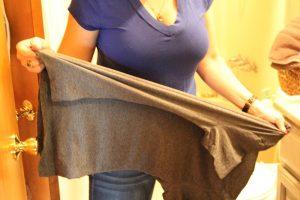 How to stretch a shirt