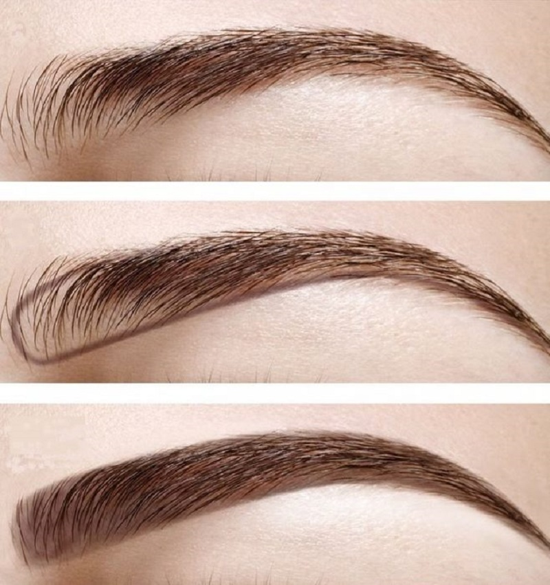 Create the eyebrow design