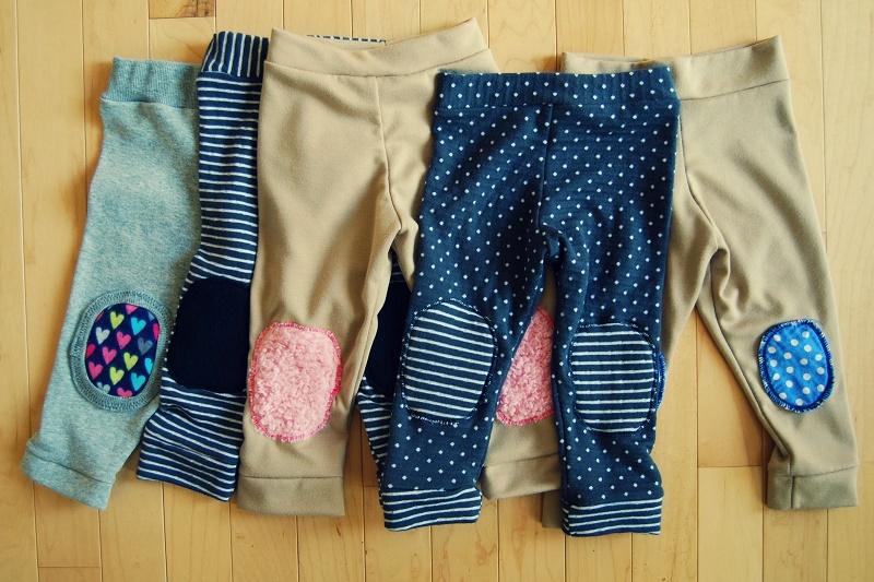 Padded long pants