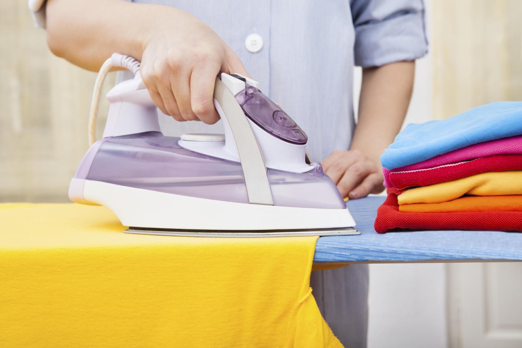 como planchar la ropa