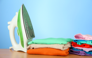 How to iron clothes fast