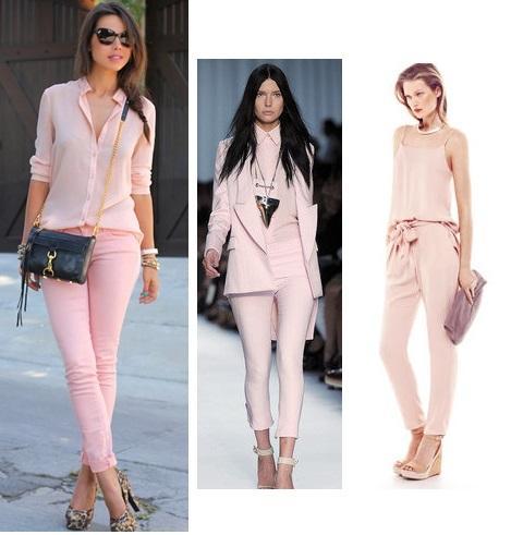 Total pink look