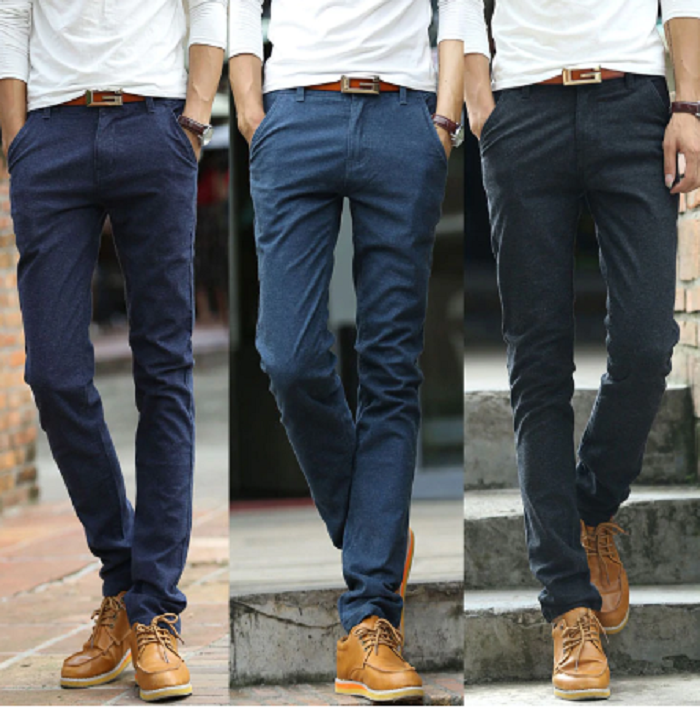 dark blue pant for men