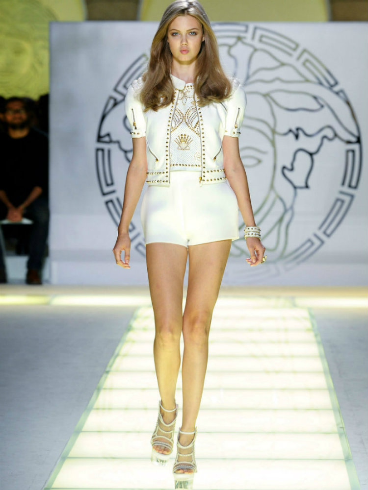 From the catwalks