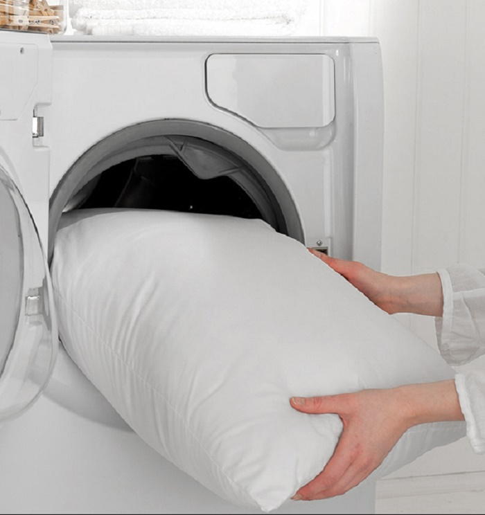 how to wash pillowcases