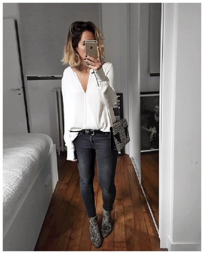 what to wear with black jeans 1