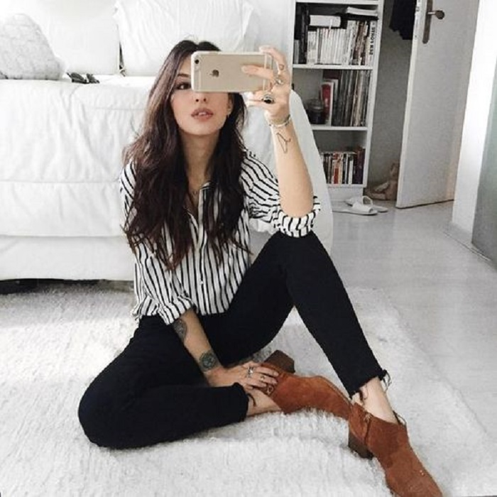 what to wear with black jeans 9